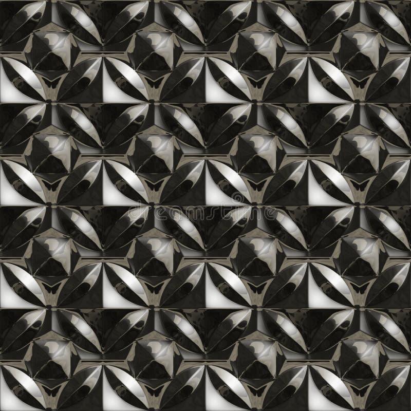 Metalu wzór ilustracja wektor