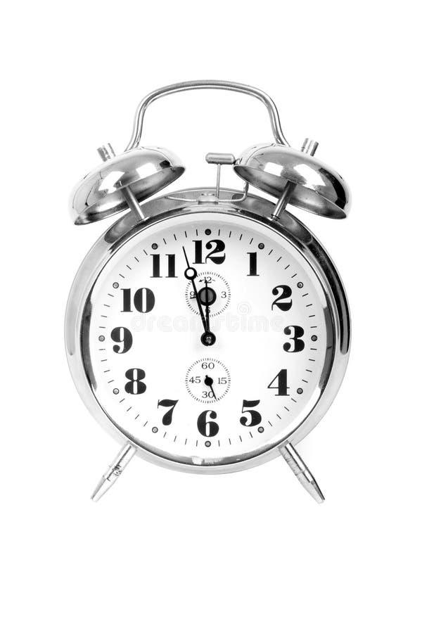 metalu zegarowy rocznik obraz stock