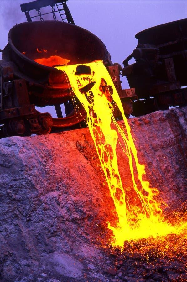Metalurgia imagen de archivo