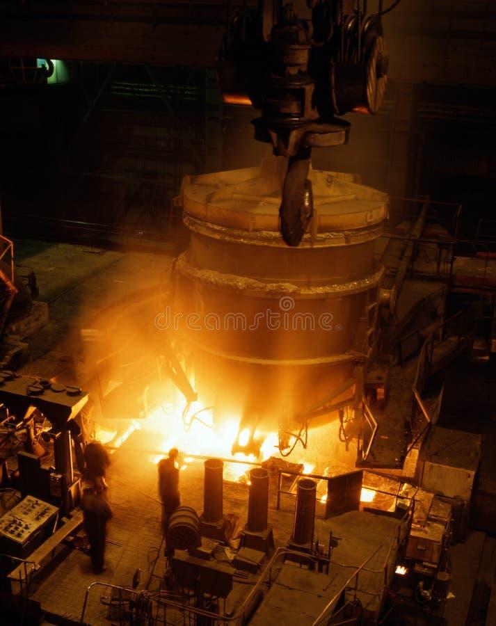Metalurgia industrial fotos de stock