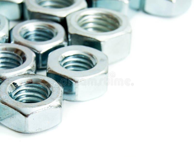 metalwork Accesorio del metal en un fondo blanco foto de archivo libre de regalías