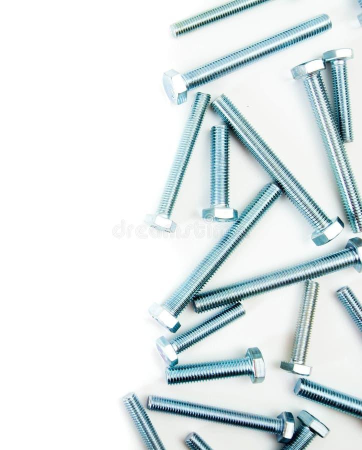 metalwork Accesorio del metal en un fondo blanco fotografía de archivo libre de regalías