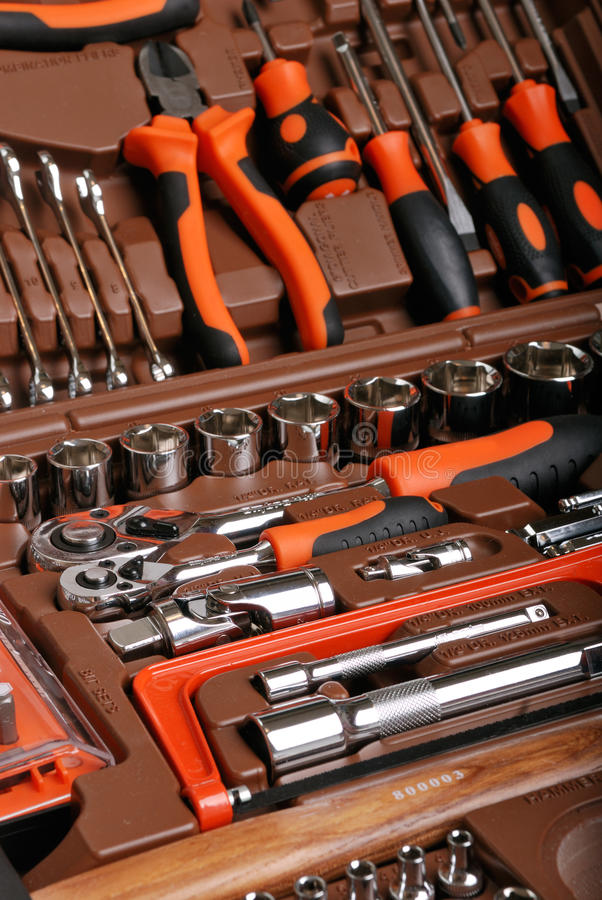 Download Metalwork toolbox stock photo. Image of accessibility - 13963014