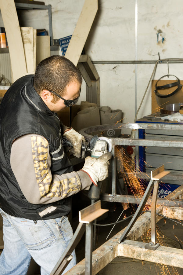Metalworker fotos de stock royalty free