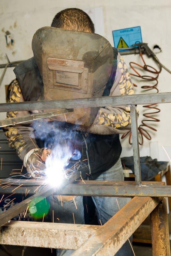 Metalworker foto de stock royalty free