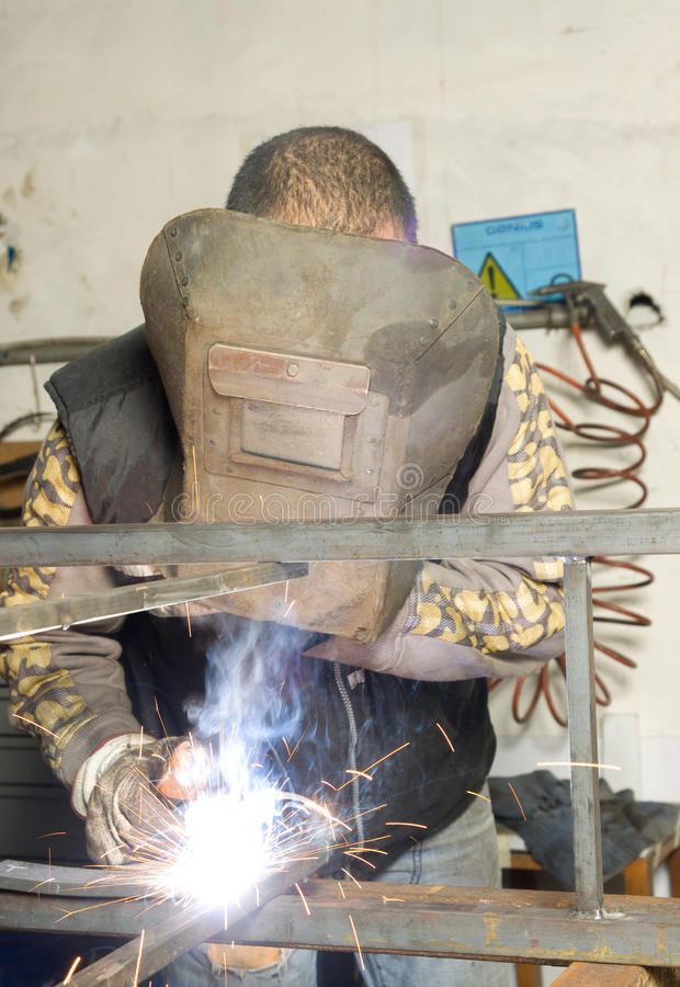 Download Metalworker stock photo. Image of construction, steel - 13294502