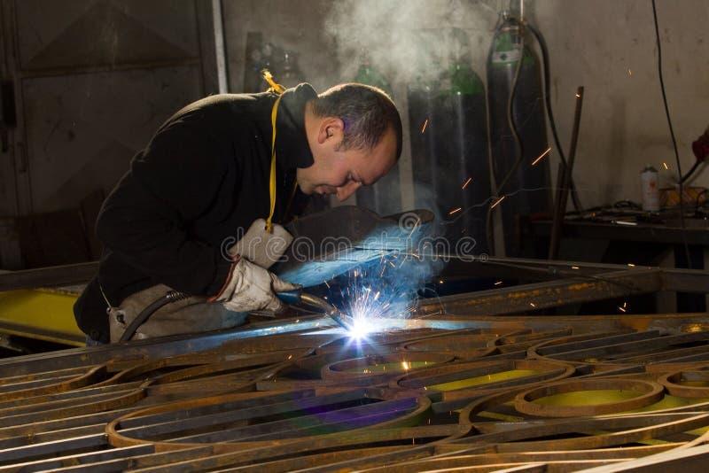 Metalworker fotografia de stock