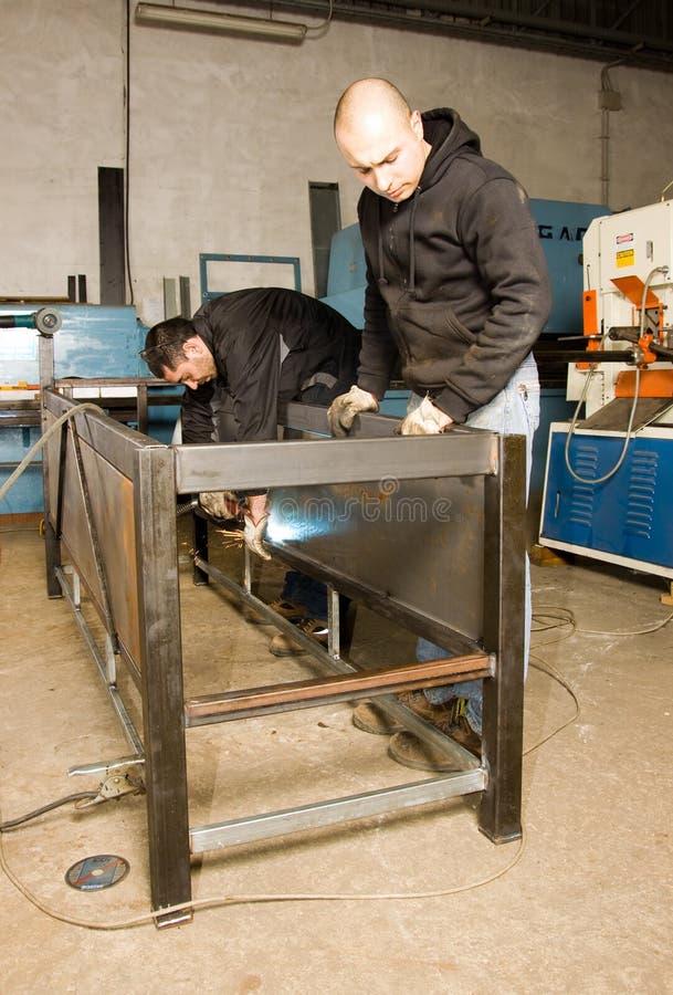 metalworkers стоковое фото rf