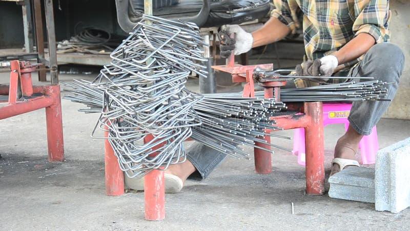 Metalworking Curved or bending steel make Stirrups poles  Builder, casing
