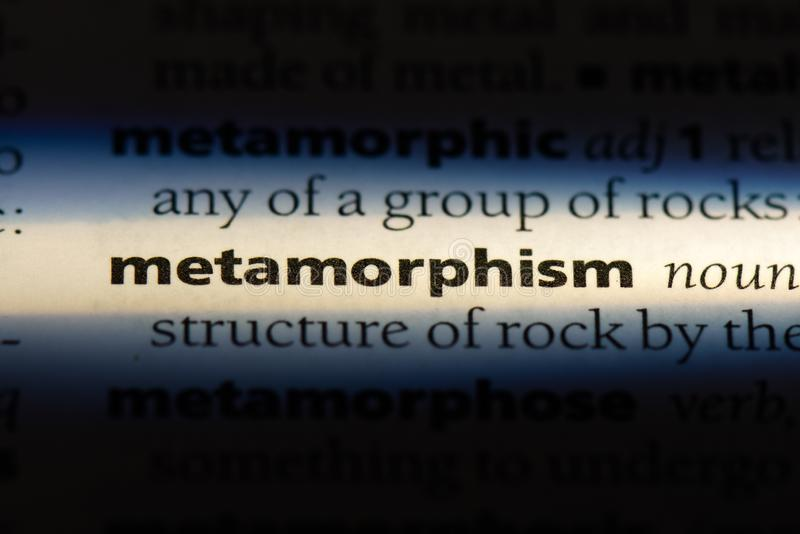 metamorfizm fotografia royalty free