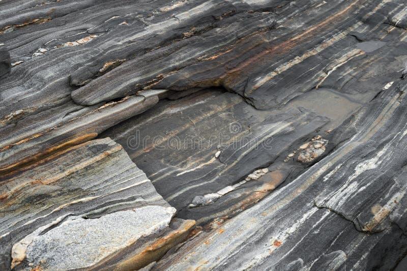 Metamorphic Rock Textures - Natural Grainy Patterns stock photography
