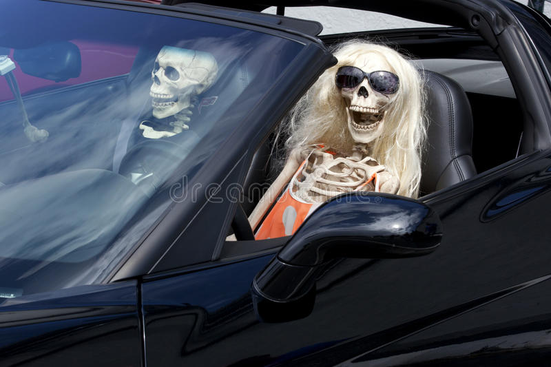 Metaphor: Dangerest driving stock photography