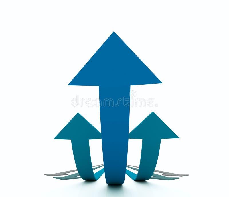 Metaphor of Success stock illustration