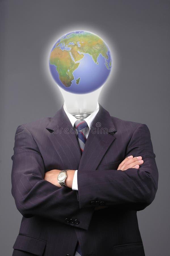 Metaphore do negócio global fotos de stock royalty free
