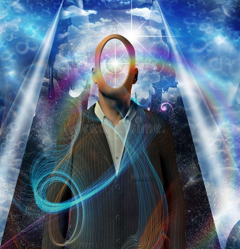 metaphysic illustrazione di stock