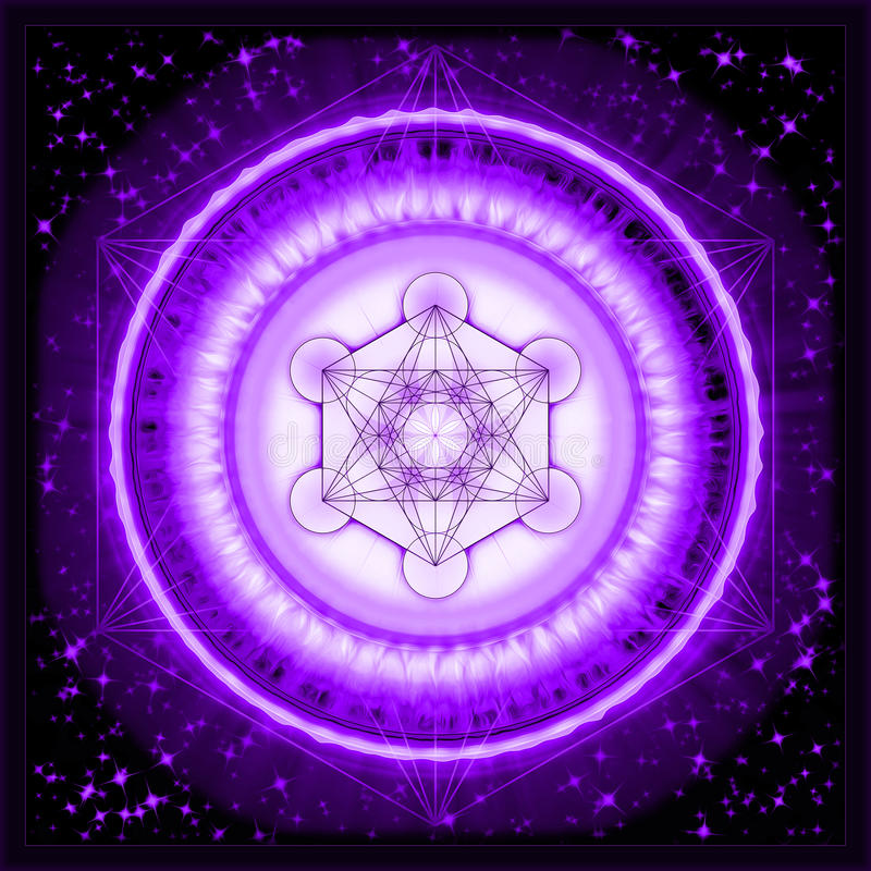 Free Metatron`s Cube Stock Photos - 47619763