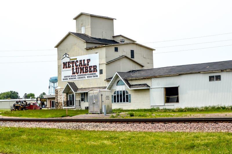 Metcalf Lumber, Wisconsin Rapids, WI photo libre de droits
