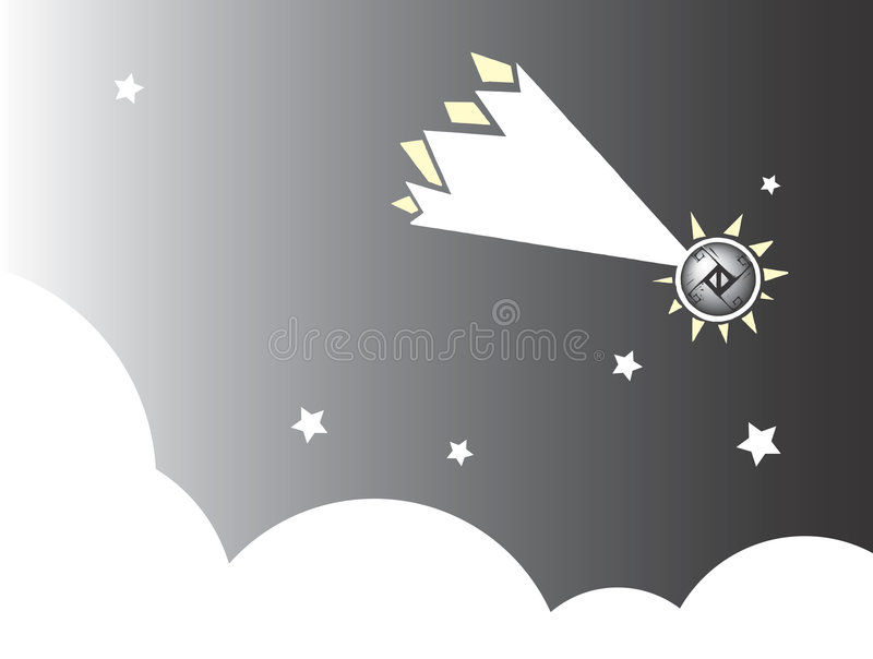 Meteor #2 Royalty Free Stock Images
