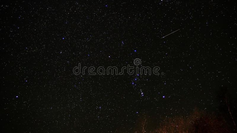 meteor royaltyfri fotografi