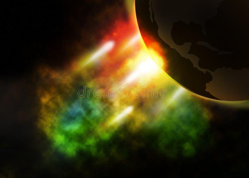 Meteor clash earth