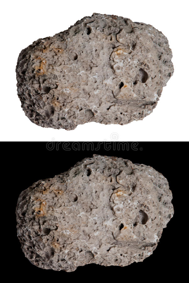 Meteor, Comet, Asteroid, Space Rock, Isolated. For the graphic designer, a rock that can be used for an outer space concept such as a hurtling meteor, comet royalty free stock images
