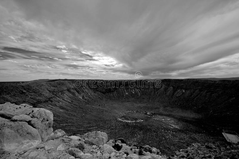 Download Meteor Crater Royalty Free Stock Images - Image: 17039239