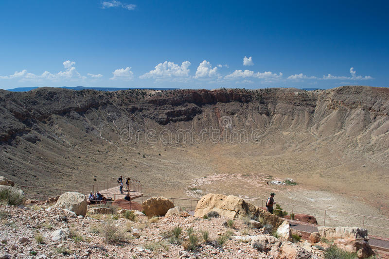 Meteor Crater Editorial Photography