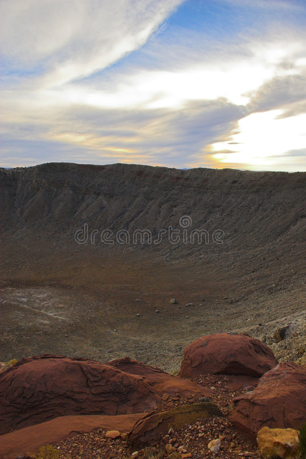 Free Meteor Crater Stock Photo - 3471080
