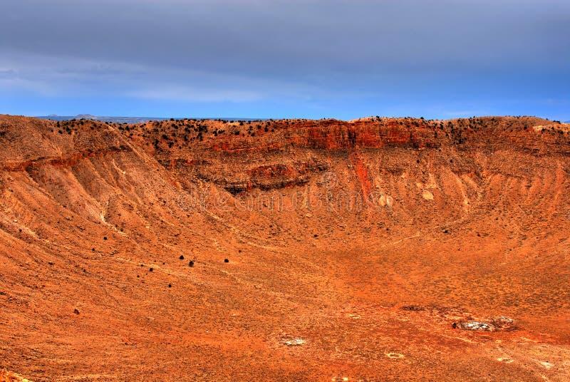 Download Meteor Crater stock image. Image of fallen, destruction - 5912225