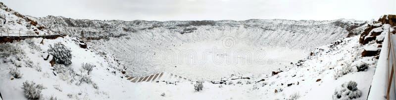 Meteor-Krater, Arizona stockfotos