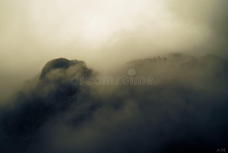 Meteora royalty-vrije stock foto's