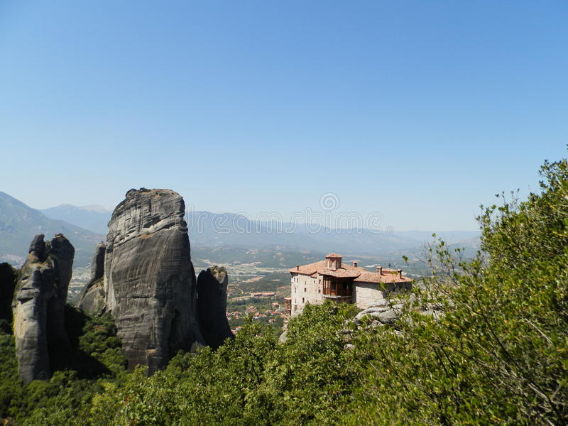 Meteora photographie stock