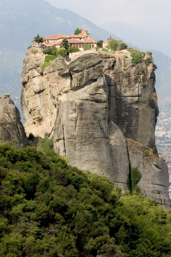 Meteora 5 stock photography