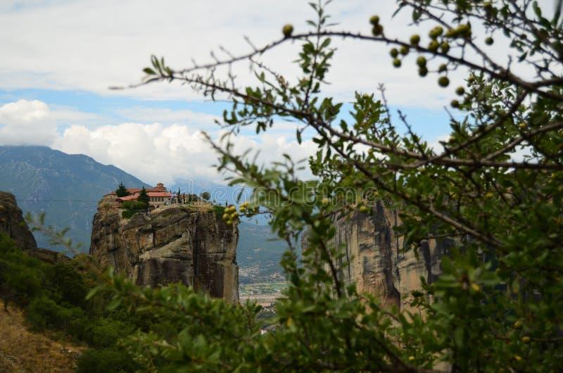 Meteora royalty-vrije stock afbeelding