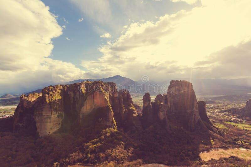 Meteora photo stock