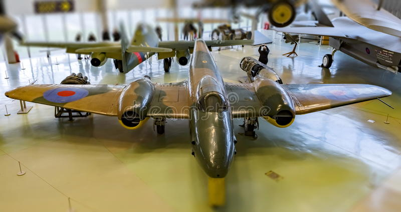 Meteora di Gloster fotografia stock