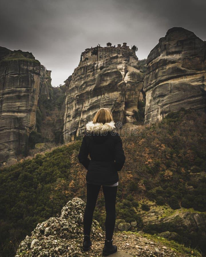 Meteora Grèce photographie stock libre de droits