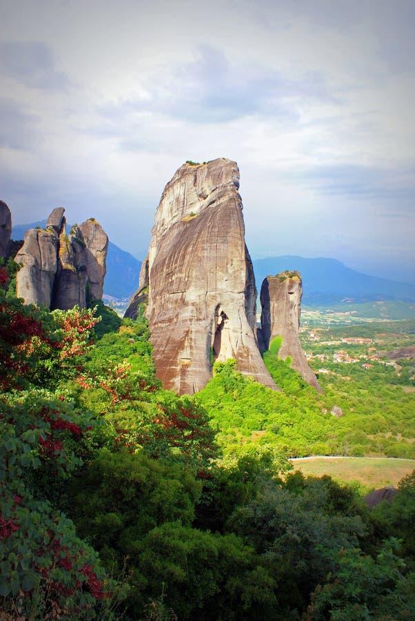 Meteora-Grécia fotos de stock royalty free