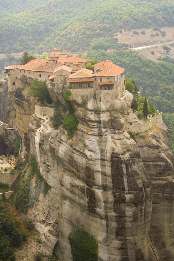 Meteora-Grecia imagen de archivo