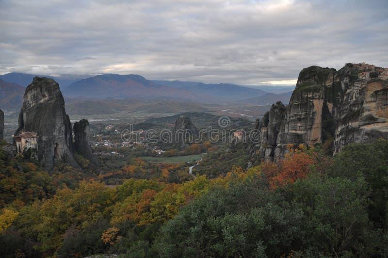 Meteora, Grecia imagen de archivo