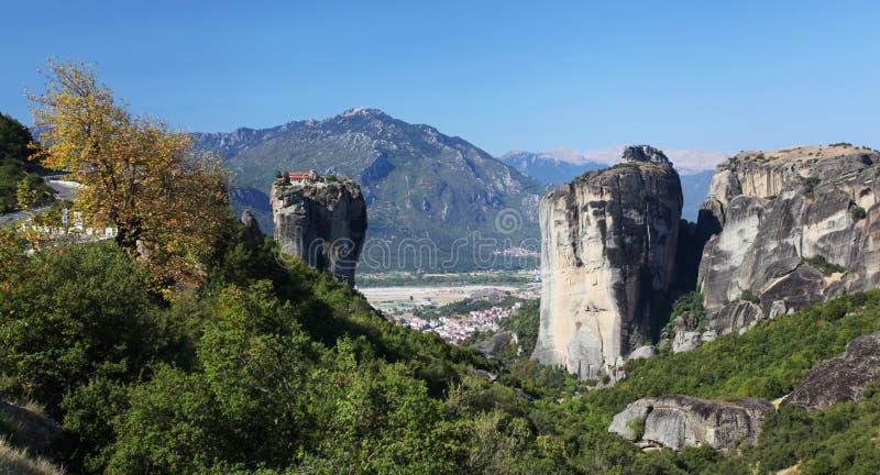 Download Meteora in Greece stock image. Image of cliffs, rocks - 27447125