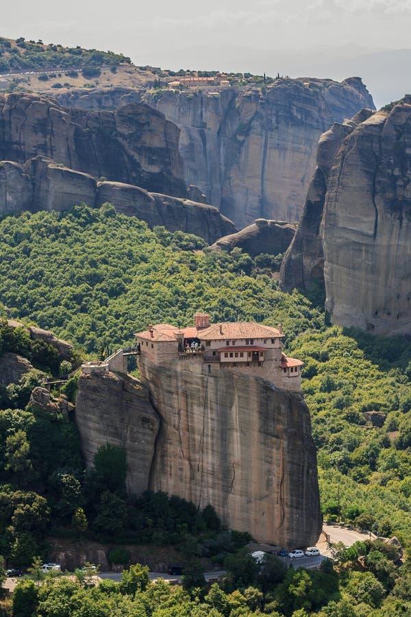 Meteora, Griechenland lizenzfreie stockfotos