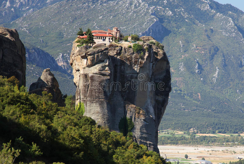 Meteora in Griekenland stock foto