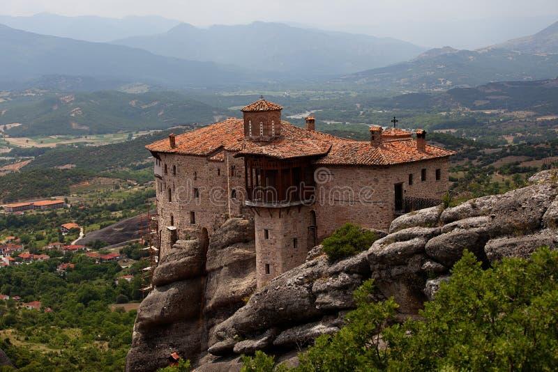 Meteora, Griekenland royalty-vrije stock foto