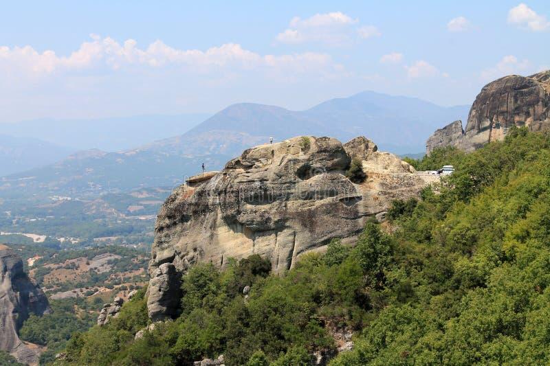 Meteora Griekenland Europa royalty-vrije stock foto