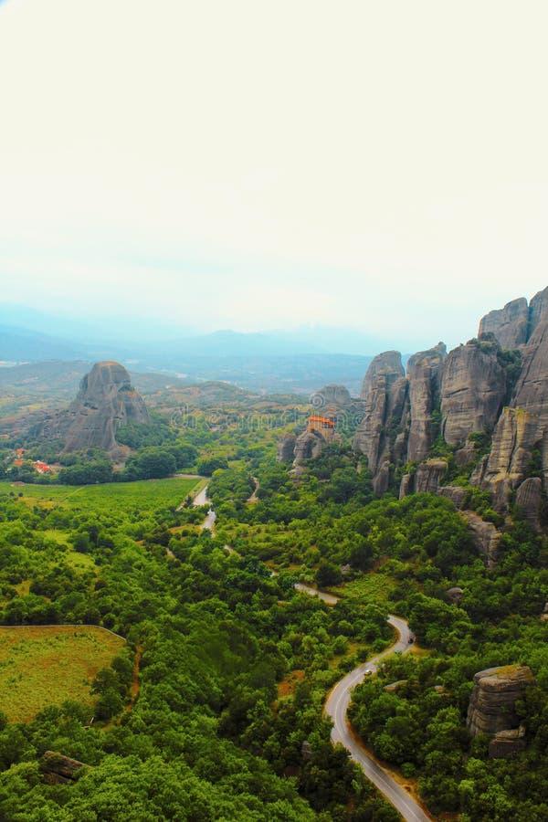 Meteora, Kalambaka, Grecia fotografia stock libera da diritti