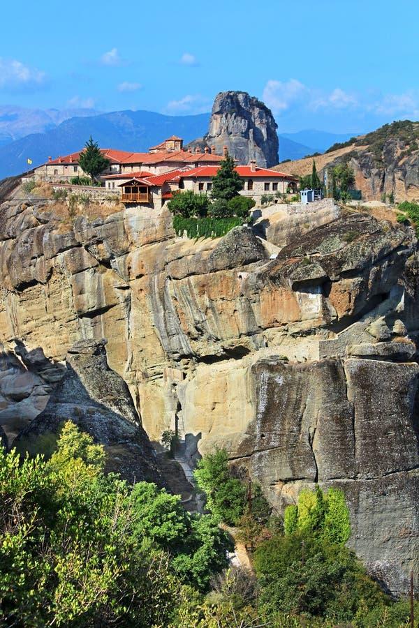 Meteora Monasteries stock photos