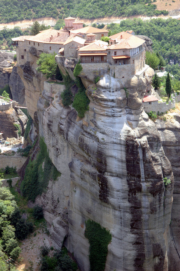 Free Meteora Monastery In Greece Royalty Free Stock Photography - 5918607