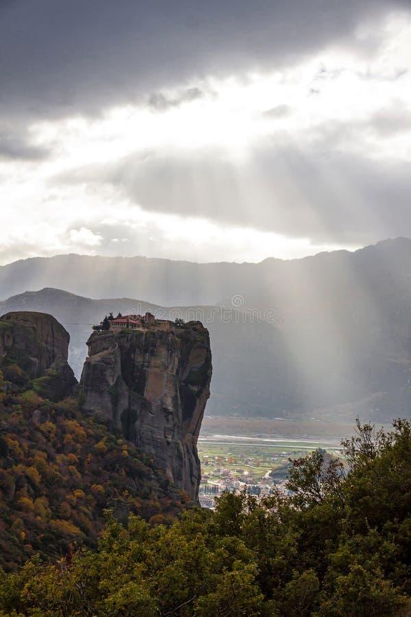 Download Meteora Rocks, Greece Royalty Free Stock Image - Image: 33487606