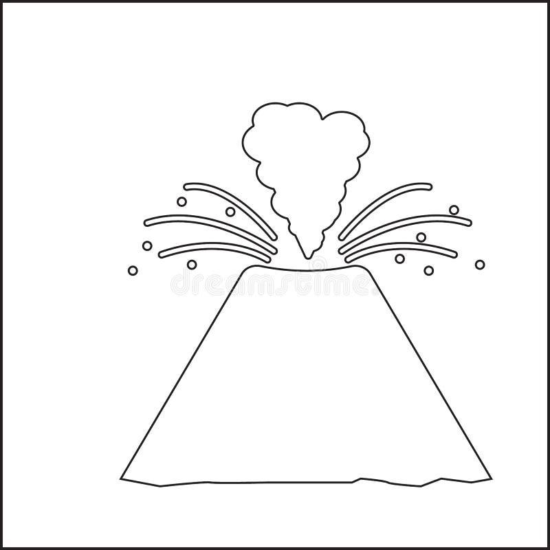 Meteorietpictogram r Overzicht, dun lijnpictogram voor websiteontwerp en royalty-vrije illustratie